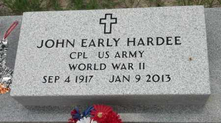 HARDEE, JOHN EARLY - Levy County, Florida | JOHN EARLY HARDEE - Florida Gravestone Photos