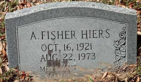 HIERS, ARTHUR FISHER - Levy County, Florida   ARTHUR FISHER HIERS - Florida Gravestone Photos