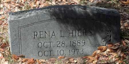HIERS, RENA - Levy County, Florida | RENA HIERS - Florida Gravestone Photos