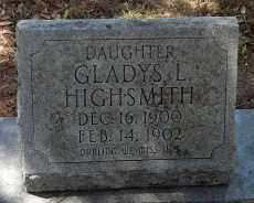 HIGHSMITH, GLADYS LAVENIA - Levy County, Florida | GLADYS LAVENIA HIGHSMITH - Florida Gravestone Photos