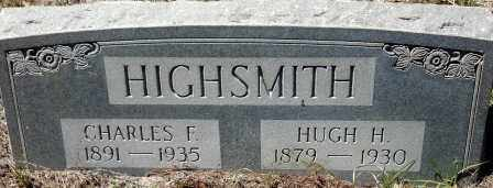 HIGHSMITH, HUGH H. - Levy County, Florida | HUGH H. HIGHSMITH - Florida Gravestone Photos