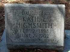 HIGHSMITH, KATIE ELIZABETH - Levy County, Florida | KATIE ELIZABETH HIGHSMITH - Florida Gravestone Photos