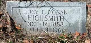 HOGAN HIGHSMITH, LUCY ELIZABETH - Levy County, Florida | LUCY ELIZABETH HOGAN HIGHSMITH - Florida Gravestone Photos