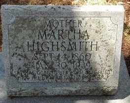 HIERS HIGHSMITH, MARTHA - Levy County, Florida | MARTHA HIERS HIGHSMITH - Florida Gravestone Photos