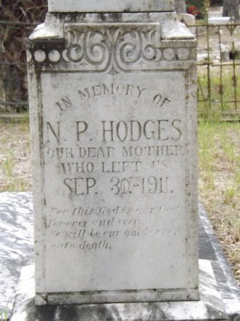 HODGES, NANCY PINCKNEY - Levy County, Florida | NANCY PINCKNEY HODGES - Florida Gravestone Photos