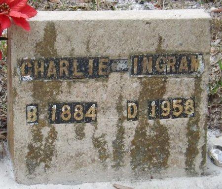 INGRAM, CHARLIE - Levy County, Florida   CHARLIE INGRAM - Florida Gravestone Photos