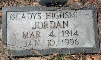 HIGHSMITH JORDAN, GLADYS FRANCES - Levy County, Florida | GLADYS FRANCES HIGHSMITH JORDAN - Florida Gravestone Photos