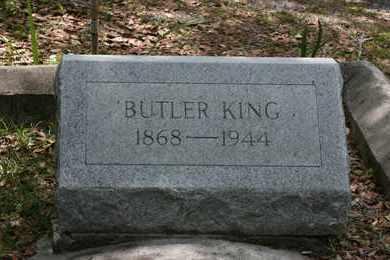 KING, BUTLER - Levy County, Florida   BUTLER KING - Florida Gravestone Photos
