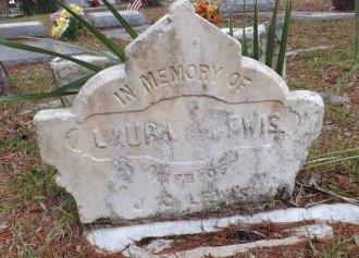 LEWIS, LAURA - Levy County, Florida | LAURA LEWIS - Florida Gravestone Photos
