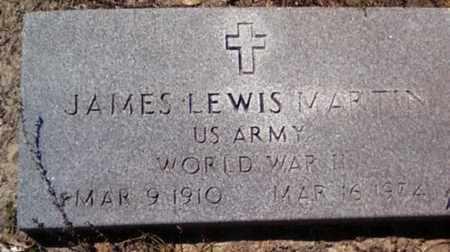 MARTIN (VETERAN WWII), JAMES LEWIS (NEW) - Levy County, Florida | JAMES LEWIS (NEW) MARTIN (VETERAN WWII) - Florida Gravestone Photos