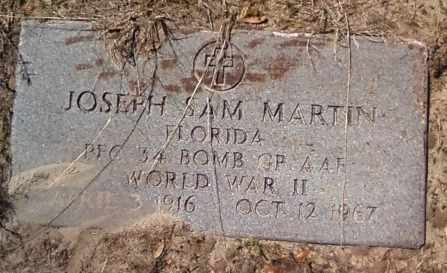 MARTIN (VETERAN WWII), JOSEPH SAM (NEW) - Levy County, Florida   JOSEPH SAM (NEW) MARTIN (VETERAN WWII) - Florida Gravestone Photos