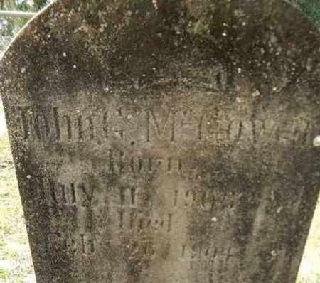 MCGOWAN, JOHN G. - Levy County, Florida | JOHN G. MCGOWAN - Florida Gravestone Photos