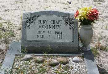 MCKINNEY, RUBY CRAFT - Levy County, Florida | RUBY CRAFT MCKINNEY - Florida Gravestone Photos