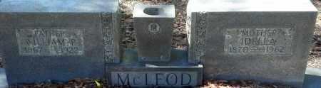 MCLEOD, WILLIAM PORTER - Levy County, Florida | WILLIAM PORTER MCLEOD - Florida Gravestone Photos