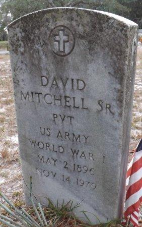 MITCHELL, SR. (VETERAN WWI), DAVID (NEW) - Levy County, Florida | DAVID (NEW) MITCHELL, SR. (VETERAN WWI) - Florida Gravestone Photos
