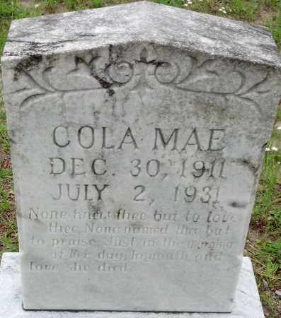 OVERSTREET, COLA MAE - Levy County, Florida | COLA MAE OVERSTREET - Florida Gravestone Photos