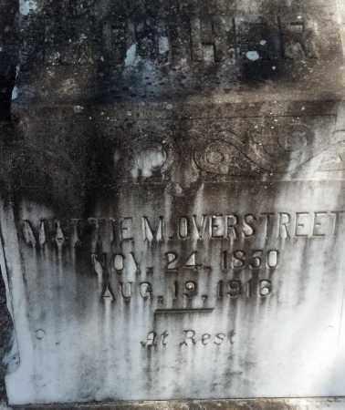 "SMITH OVERSTREET, MARTHA M ""MATTIE"" - Levy County, Florida | MARTHA M ""MATTIE"" SMITH OVERSTREET - Florida Gravestone Photos"