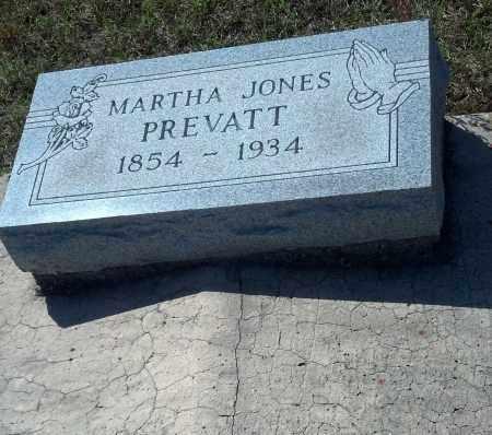 JONES PREVATT, MARTHA - Levy County, Florida | MARTHA JONES PREVATT - Florida Gravestone Photos