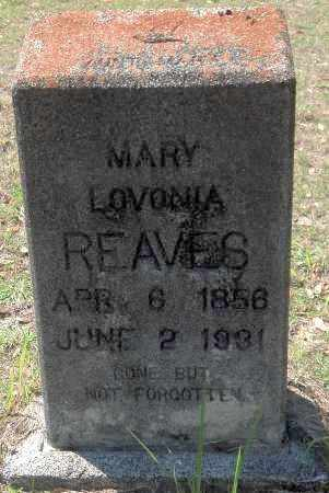 REAVES, MARY - Levy County, Florida | MARY REAVES - Florida Gravestone Photos