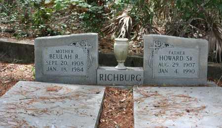 RICHBURG, BEULAH R - Levy County, Florida | BEULAH R RICHBURG - Florida Gravestone Photos