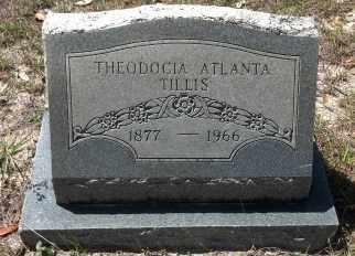 TILLIS, THEODOCIA ATLANTA - Levy County, Florida | THEODOCIA ATLANTA TILLIS - Florida Gravestone Photos