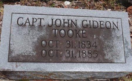 TOOKE (VETERAN CSA), JOHN GIDEON (NEW) - Levy County, Florida | JOHN GIDEON (NEW) TOOKE (VETERAN CSA) - Florida Gravestone Photos