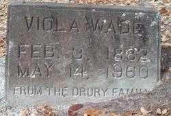 WADE, VIOLA - Levy County, Florida | VIOLA WADE - Florida Gravestone Photos