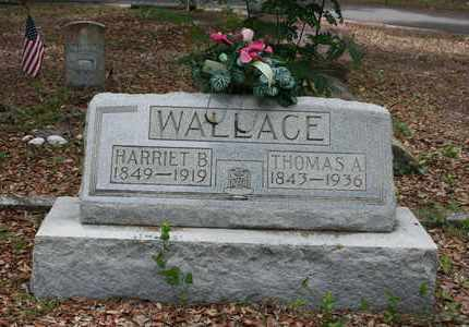 WALLACE, HARRIET B - Levy County, Florida | HARRIET B WALLACE - Florida Gravestone Photos