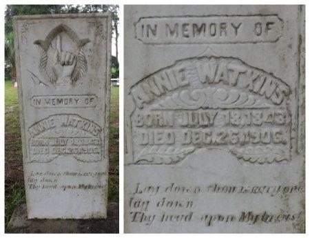 WATKINS, ANNIE - Levy County, Florida   ANNIE WATKINS - Florida Gravestone Photos