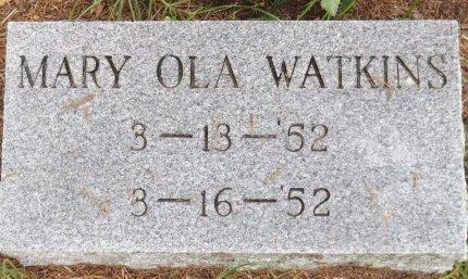 WATKINS, MARY OLA - Levy County, Florida   MARY OLA WATKINS - Florida Gravestone Photos