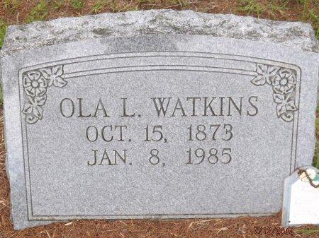 WATKINS, OLA LEONA - Levy County, Florida | OLA LEONA WATKINS - Florida Gravestone Photos