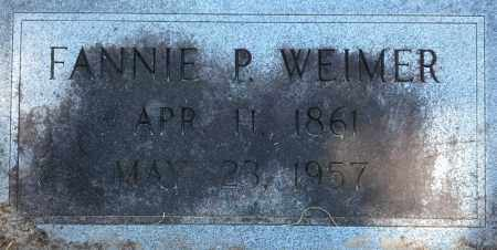 WEIMER, ANN FANNIE - Levy County, Florida | ANN FANNIE WEIMER - Florida Gravestone Photos