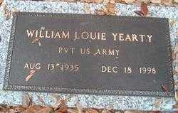 YEARTY (VETERAN), WILLIAM LOUIE - Levy County, Florida | WILLIAM LOUIE YEARTY (VETERAN) - Florida Gravestone Photos