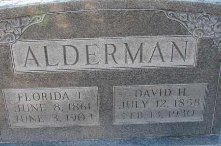 GILLEY ALDERMAN, FLORIDA TEXAS - Manatee County, Florida | FLORIDA TEXAS GILLEY ALDERMAN - Florida Gravestone Photos