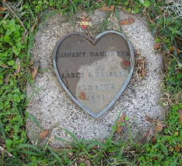 ALDRICH, INFANT DAUGHTER - Manatee County, Florida | INFANT DAUGHTER ALDRICH - Florida Gravestone Photos