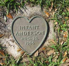 ANDERSON, INFANT - Manatee County, Florida   INFANT ANDERSON - Florida Gravestone Photos