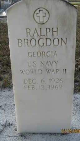 BROGDON (VETERAN WWII), RALPH - Manatee County, Florida | RALPH BROGDON (VETERAN WWII) - Florida Gravestone Photos