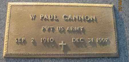 CANNON (VETERAN), WILLIAM PAUL - Manatee County, Florida   WILLIAM PAUL CANNON (VETERAN) - Florida Gravestone Photos