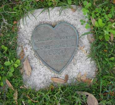 COOK, CONSTANCE L - Manatee County, Florida   CONSTANCE L COOK - Florida Gravestone Photos