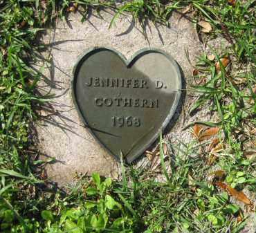 COTHERN, JENNIFER D - Manatee County, Florida | JENNIFER D COTHERN - Florida Gravestone Photos