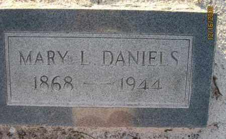 DANIELS, MARY L - Manatee County, Florida | MARY L DANIELS - Florida Gravestone Photos