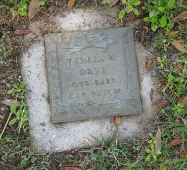 DRYE, TERESA W - Manatee County, Florida | TERESA W DRYE - Florida Gravestone Photos