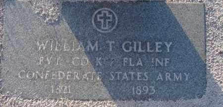 GILLEY (VETERAN CSA), WILLIAM TRIGGS - Manatee County, Florida | WILLIAM TRIGGS GILLEY (VETERAN CSA) - Florida Gravestone Photos
