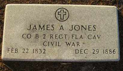 JONES (VETERAN CW), JAMES A - Manatee County, Florida | JAMES A JONES (VETERAN CW) - Florida Gravestone Photos