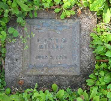 MILLER, SCOTT G - Manatee County, Florida | SCOTT G MILLER - Florida Gravestone Photos