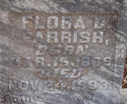 PARRISH, FLORA D. - Manatee County, Florida | FLORA D. PARRISH - Florida Gravestone Photos