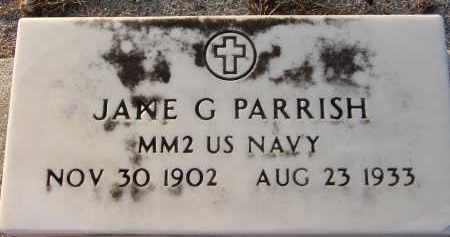 PARRISH (VETERAN), JANE G. - Manatee County, Florida | JANE G. PARRISH (VETERAN) - Florida Gravestone Photos