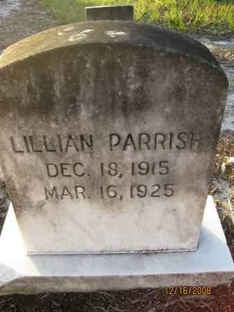 PARRISH, LILLIAN - Manatee County, Florida | LILLIAN PARRISH - Florida Gravestone Photos