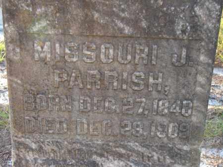 PARRISH, MISSOURI JANE - Manatee County, Florida | MISSOURI JANE PARRISH - Florida Gravestone Photos