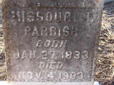PARRISH, MISSOURI T. - Manatee County, Florida | MISSOURI T. PARRISH - Florida Gravestone Photos
